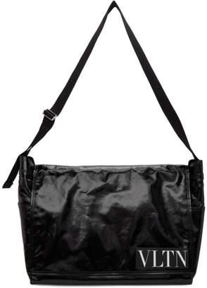 Valentino Black Large VLTN Messenger Bag