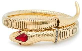 Etro Snake Wrap Bracelet - Womens - Gold