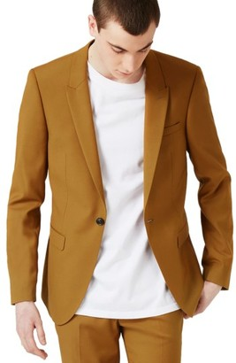 Men's Topman Ultra Skinny Fit Suit Jacket $200 thestylecure.com