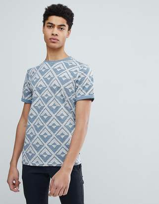 Ted Baker T-Shirt With Geo Print