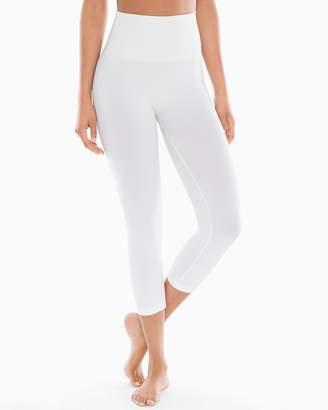 Slimming Denim Crop Leggings Bright White