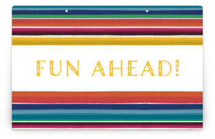 Fiesta! Personalizable Party Greeting Signs 2