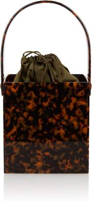Montunas Stelis Square Tortoiseshell Box Bag