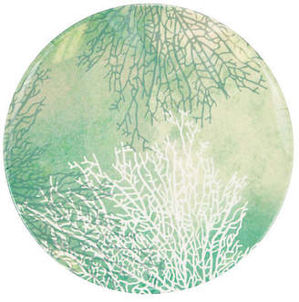 MADHOUSE by Michael Aram Coral Melamine Dinner Plate - Blue