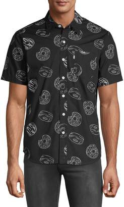 Levi's Donut-Print Button-Down Shirt