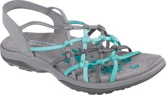 Skechers Reggae Slim Forget Me Knot Slingback Sandal(Women's) -Black Limited Edition Cheap Price Clearance Deals Clearance Lowest Price With Credit Card Cheap Price u8780oKIz
