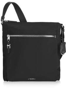 Tumi Men's Voyageur Canton Crossbody Bag - Black Silver