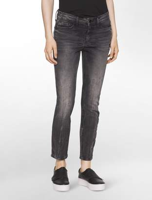 Calvin Klein ultimate skinny cement ankle jeans