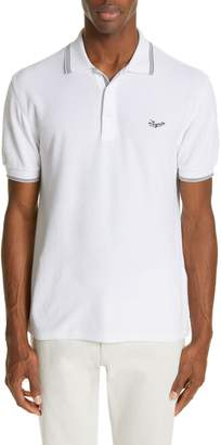 Ermenegildo Zegna French Terry Polo Shirt