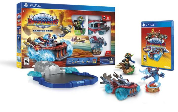 Sony Skylanders Superchargers Game - PlayStation 4