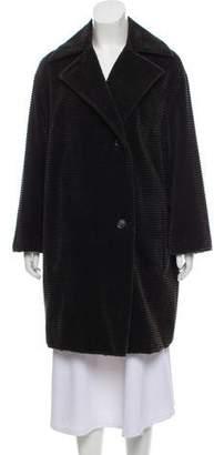 Akris Punto Button-Up Short Coat