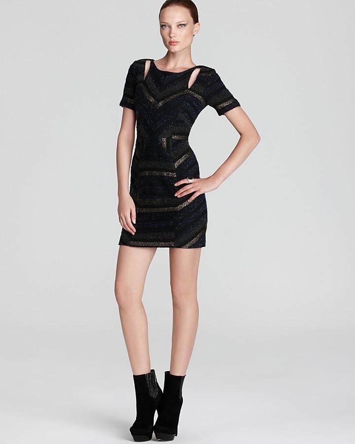 Rebecca Minkoff Dress - Crystal Tweed