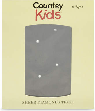 Country Kids Sheer diamond tights 3-11 years