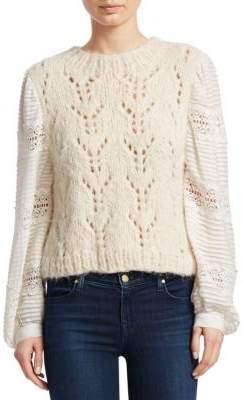Sea Ellie Lace Combo Sweater