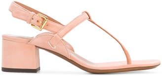 L'Autre Chose slingback court sandals