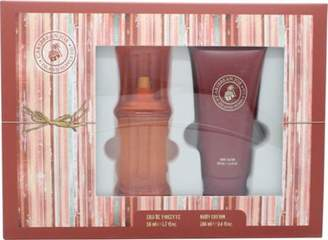 Caribbean Joe For Her By Gift Set 50mL Edt + 100mL Body Lotion For Women