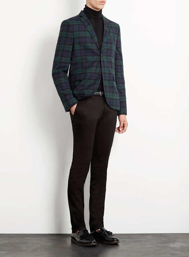 Topman Black Ultra Skinny Dress Pants