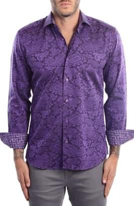 Bertigo Paisley Modern Fit Sport Shirt