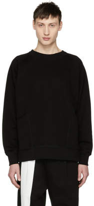 Diet Butcher Slim Skin Black Out Pocket Sweatshirt