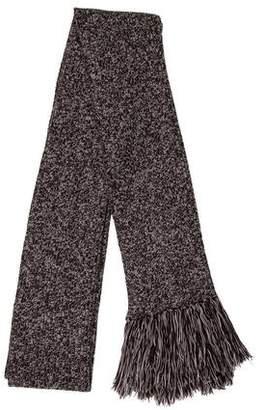 Dolce & Gabbana Knit Fringe Scarf