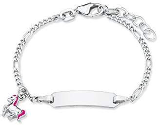 Prinzessin Lillifee Princess Lillifee 2018082 children's girls' adjustable bracelet 12 + 2 cm engraved ladybird 925 sterling silver rhodium plated