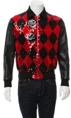 Saint Laurent 2016 Sequined Jacket