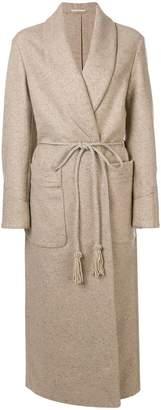 Golden Goose belted cardi-coat