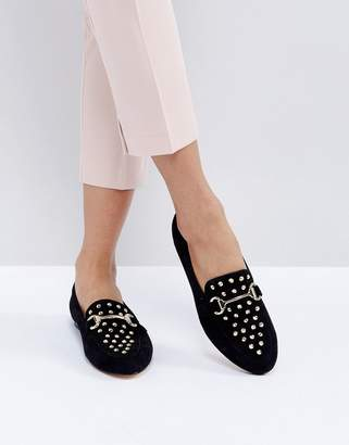 Office Flash Studded Loafers