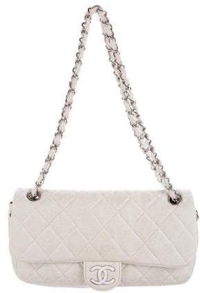 Chanel Metallic Jersey Flap Bag