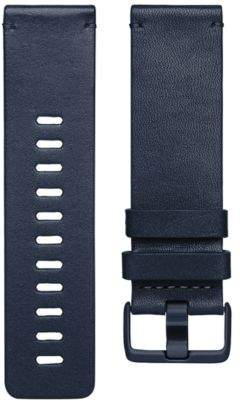 Fitbit VersaTM Midnight Blue Horween Leather Accessory Band