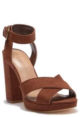 Abound Bianka Fab Faux Suede Block Heel Sandal