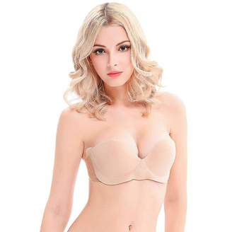 efd7967e7f9b6 at Amazon Canada · VSTYLE Miss Double VSTYLE Invisairpad Strapless Pushup  Bra Inflatable Cups Wire Free (D