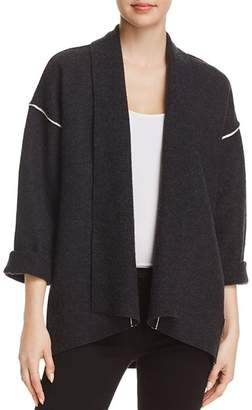 Eileen Fisher Wool Shawl-Collar Jacket - 100% Exclusive