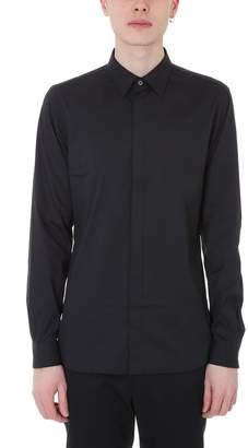 Mauro Grifoni Black Cotton Shirt