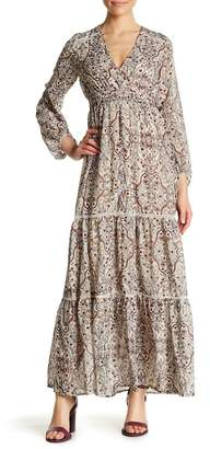Love Stitch Long Sleeve Boho Maxi Dress