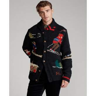 Ralph Lauren Skier Hand-Knit Cardigan