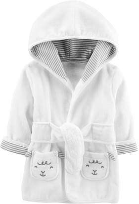 Carter's Baby Hooded Lamb Robe