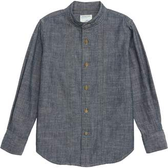J.Crew crewcuts by Chambray Band Collar Shirt