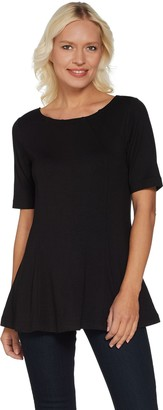 Belle By Kim Gravel Belle by Kim Gravel Essential Fit and Flare Top