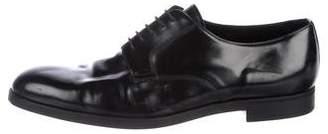 Prada Spazzolato Derby Shoes