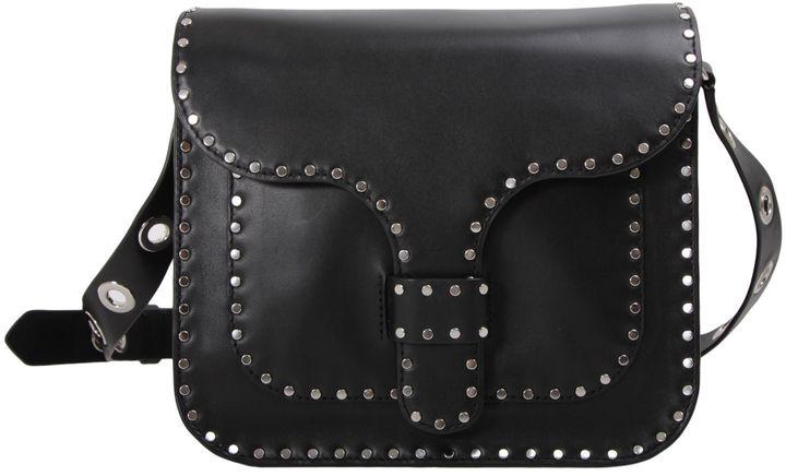 Rebecca MinkoffRebecca Minkoff Midnight Large Messenger Leather Crossbody