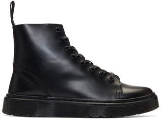 4a669b7ae Dr. Martens Black Talib High-Top Sneakers
