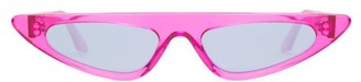 Cat Eye Andy Wolf - Florence Acetate Sunglasses - Womens - Pink
