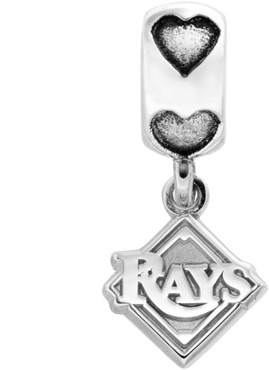 Logoart LogoArt Tampa Bay Devil Rays Sterling Silver Team Logo Charm