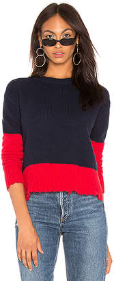 Sundry Colorblock Sweater
