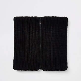 River Island Black knit snood