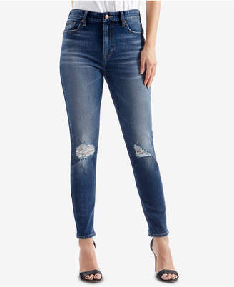 Lucky Brand Bridgette High Rise Ripped Skinny Jeans