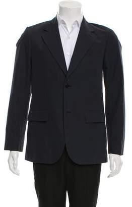 agnès b. Woven Two-Button Blazer