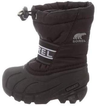 Sorel Toddlers' Round-Toe Snow Boots