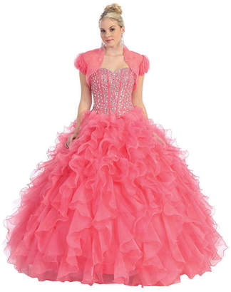 Asstd National Brand Quinceanera Princess Ball Gown - Juniors